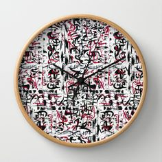 Secret Place Wall Clock by Tika Calderon - $30.00