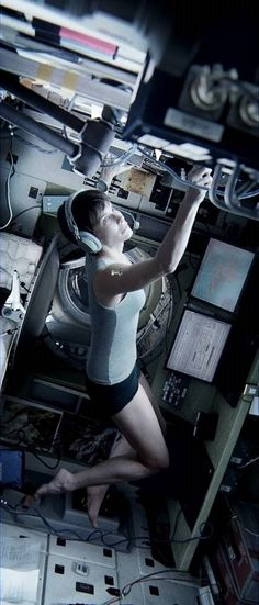 GRAVITY - It was definitely not lost on me that Sandra Bullock had the exact same haircut as me in this movie.