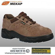 Mekap iş ayakkabısı 090 Bora S.Kahve