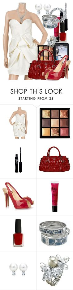 """""""Dress up day!!!"""" by miss-massie-block3 ❤ liked on Polyvore featuring Samsung, STELLA McCARTNEY, Givenchy, Anna Sui, Prada, Christian Louboutin, philosophy, Coach, Tiffany & Co. and Swarovski"""