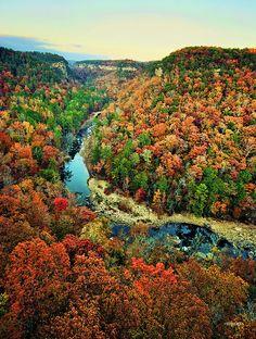 Little River Canyon - Northern Alabama near Fort Payne