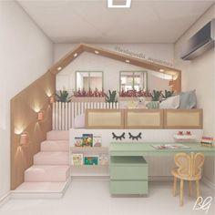 Bed For Girls Room, Bedroom Decor For Teen Girls, Cute Bedroom Ideas, Cute Room Decor, Awesome Bedrooms, Girl Room, Room Ideas Bedroom, Teen Bedroom Designs, Room Design Bedroom