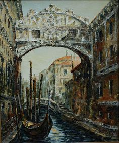 oil on canvas Venice