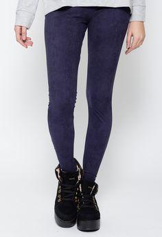 Calza Jean azul