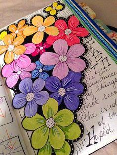 One white whiska: the documented life project - week 7 sanat dergileri kapa Notebook Art, Kunstjournal Inspiration, Art Journal Inspiration, Art Journal Pages, Art Journals, Art Journal Covers, Bible Art, Easy Drawings, Doodle Art