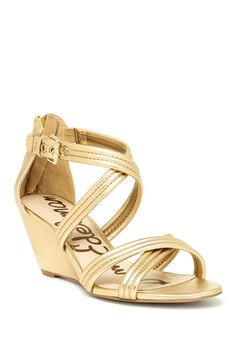 4c5f98a09c46 Sloan Wedge Sandal by Sam Edelman on  HauteLook Wedge Sandals