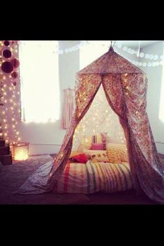 This would be so cute for a little girl's room