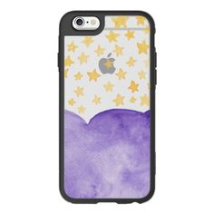 iPhone 6 Plus/6/5/5s/5c Case - Spooky Sky (Watercolour) ($40) ❤ liked on Polyvore featuring accessories, tech accessories, iphone case, iphone cover case, iphone hard case and apple iphone cases