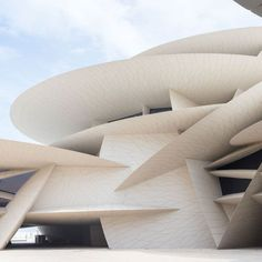 National Museum of Qatar in Doha by Atelliers Jean Nouvel Types Of Architecture, Architecture Board, Interior Architecture, Interior Design, Architect Fashion, Local Museums, Jean Nouvel, Latest Wallpapers, Wallpaper Magazine