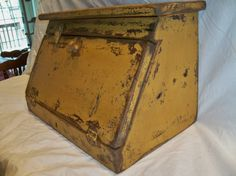 Bremen Bread Box by TheBarnWoodshop on Etsy, $99.00