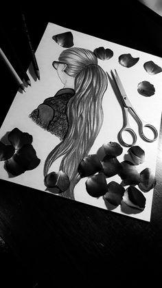 Dibujos a lapiz Prisma color