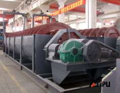 lipuchina.com:Spiral classifier for Ore beneficiation industry, mine field, resource recovery and ores.