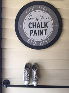 Chalk Paint® decorative paint by Annie Sloan is #‎MoreThanPaint ! Take a look at how Stockist Edwin Loy Home of Westerville, OH painted their favorite pair of Chuck Taylors with French Linen for a fresh look!