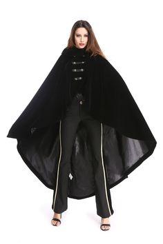 PENTAGRAMME法国原创设计华丽长大衣哥特系呶女装披风斗篷风衣-淘宝网