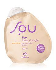 Shampoo Liso Longa Duração SOU - 200ml