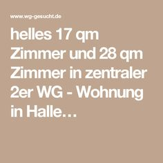 helles 17 qm Zimmer und 28 qm Zimmer in zentraler 2er WG - Wohnung in Halle…