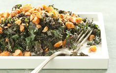 kale with honeyed macadamia nuts by @Whole Foods Market
