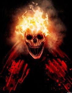 #Ghost_Rider, #fire, #horror, #images, #Призрачный_гонщик, #огонь, #ужасы, #картинки https://avavatar.ru/image/5436