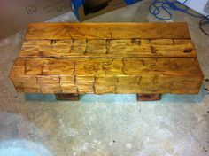 barn beam coffee table - by Alteredwood @ LumberJocks.com ...