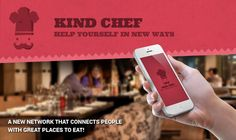 The Kind Chef App is Revolutionizing Restaurant Ordering #foodservice trendhunter.com