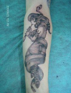 La bicha #peluandtattoo #nanotattoo #tatuaje #sanjuan