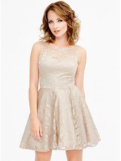 Sukienka Emma w kolorze szampańskim