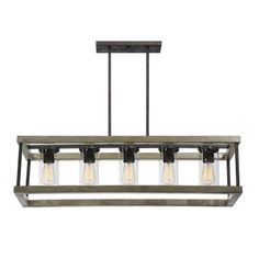 For the outdoor covered patio. Savoy House 1-2101-5-70 Eden - Five Light Outdoor Chandelier
