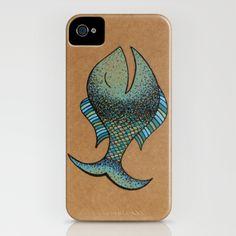 keep fishin' iPhone Case by Mariana Beldi - $35.00