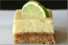 Key Lime Squares - oh so yummy sounding