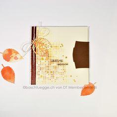 CD Verpackung #baschtuegge.ch #Herbst Scrapbooking, Packaging, Fall, Scrapbook, Memory Books, Scrapbooks