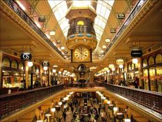Australia, New South Wales, Sydney. The interior of the Queen Victoria Building - Sydneys grandest shopping centre Book Airline Tickets, Online Tickets, Affordable Honeymoon Packages, Victoria Building, 13 Year Old Boys, Hotel Reservations, 13 Year Olds, Shopping Center, Travel Deals