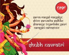 May this 9 divine nights bring happiness, peace & prosperity to your life!   Wish you all a very Happy Navratri from Rage Mobiles.  #RageMobiles #HappyNavratri