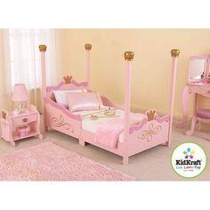 KidKraft - Princess Toddler Bed, Pink