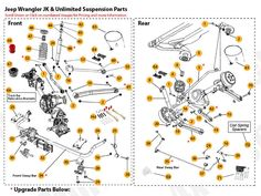 20+ Best Jeep TJ Unlimited Parts Diagrams images | jeep tj, jeep, jeep  wrangler tjPinterest