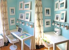 asker chubby cubbies from Ikea!  LOVE!  My desk and sewing machine desk are NEVER that clean!
