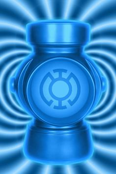 Blue Lantern battery background by_kalel7-d4kpflf