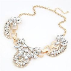 Simply Regal Statement Necklace Gold  #statement #necklace #fashion #jewelry #trendy