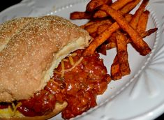 My entire family LOVES these quick and easy, homemade Sloppy Joes. There's no better comfort food!