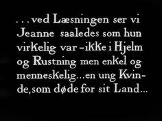 En Kvinnas Martyrium- Carl Theodor Dreyer