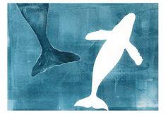 Whale Song, Tumblr, Ocean Art, Printmaking, Illustration, Art Projects, Swim, Tableware, Artwork