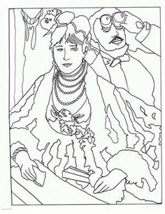 Art Appreciation - Free printable coloring pages