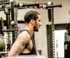 Colin Kaepernick Training