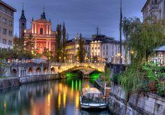 Casinha colorida: Se me chamar eu vou: Liubliana, Eslovênia