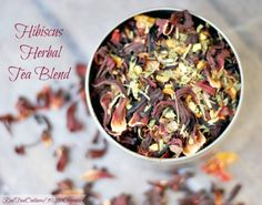 Hibiscus Herbal Tea Blend | Real Food Outlaws - 90210 Organics