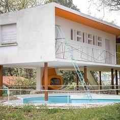 Photo de @cecileperrinetlhermitte , http://www.cecile-perrinet-lhermitte.com/ #Royan #Architecture #Instagram