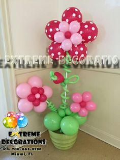 Column Balloon FlowersBalloon IdeasGirl PartiesFlower