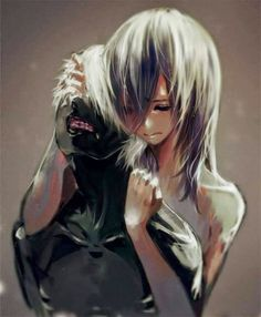 Person:They remind me of some anime characters... Me: BECAUSE THEY ARE KANEKI KEN AND TOUKA KIRISHIMA! <3