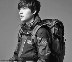 Lee Min Ho korean actor from sport clothes EIDER style and fashion man Lee Min Ho 이민호 李敏鎬
