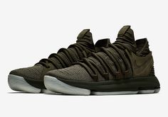 NikeLab transforms the KD 10 into a premium lifestyle offering with the Nike KD 10 NL EP Olive (Style Code: coming Summer More: Air Jordan 9, Air Jordan Future, Jordan Basketball Shoes, Nike Basketball Shoes, Basketball Outfits, Reebok, Popular Sneakers, Kd Shoes, Sneaker Games
