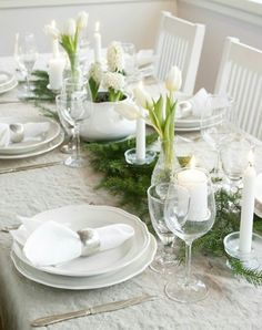 Christmas tablesetting/joulukattaus/julbord